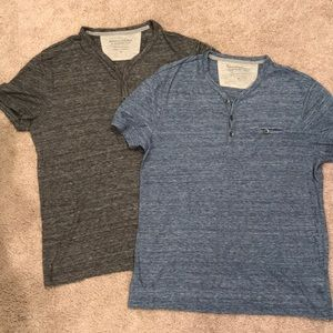 Pair of Banana Republic Vintage Medium Tees